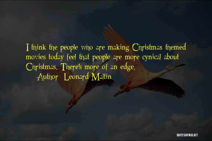 Christmas From Movies Quotes By Leonard Maltin