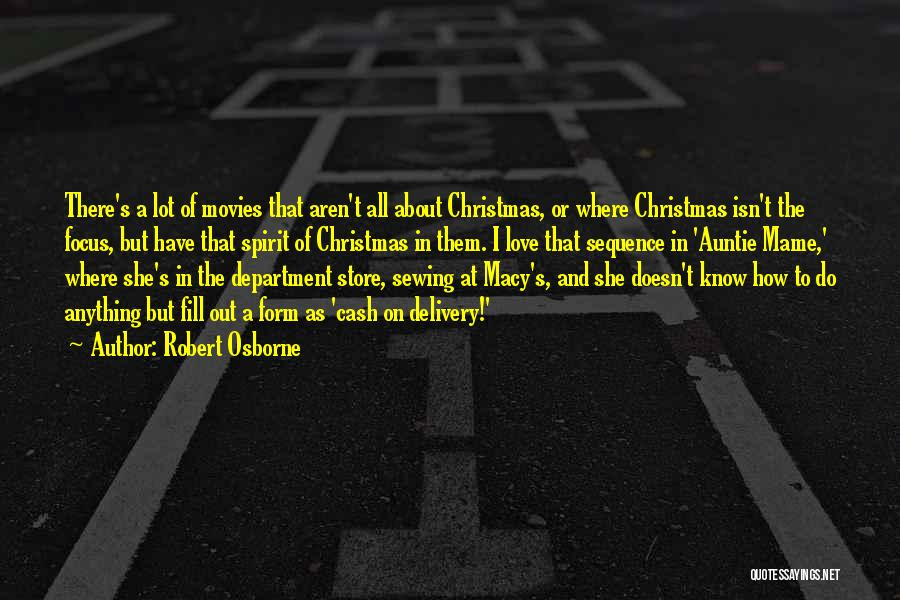 Christmas From Movies Quotes By Robert Osborne