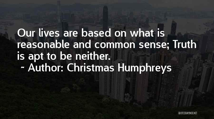 Christmas Humphreys Quotes 801008