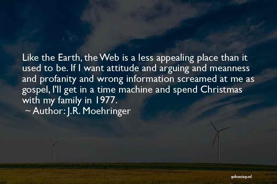 Christmas Is Time For Family Quotes By J.R. Moehringer