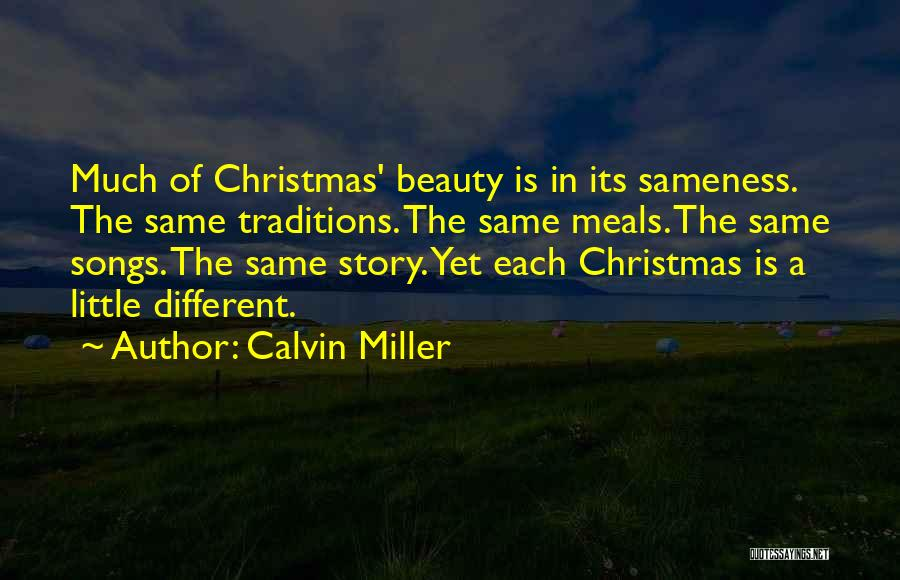 Christmas Songs And Quotes By Calvin Miller