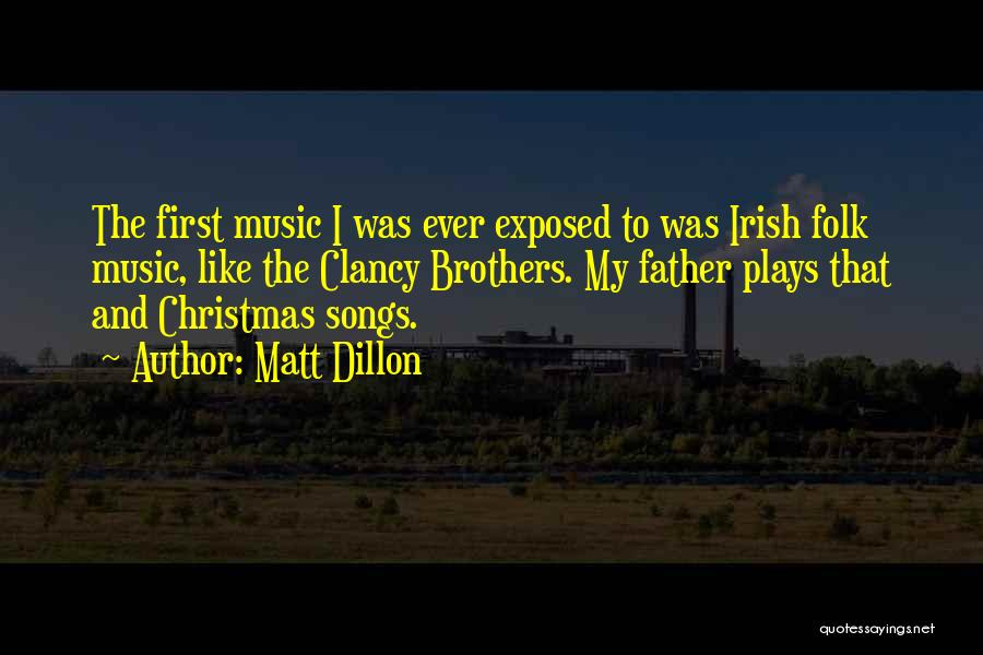 Christmas Songs And Quotes By Matt Dillon