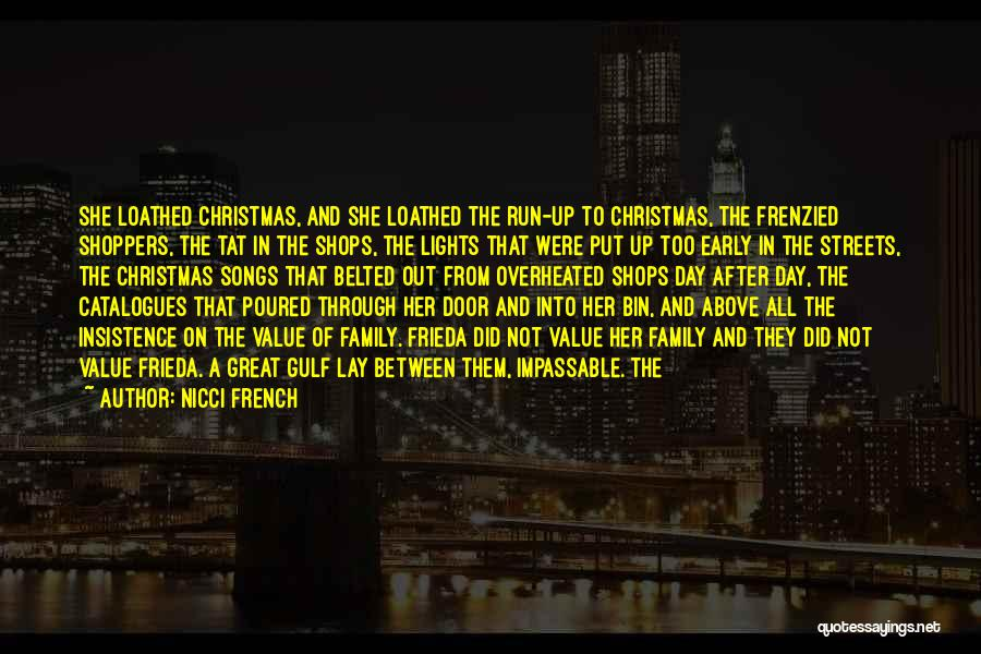 Christmas Songs And Quotes By Nicci French