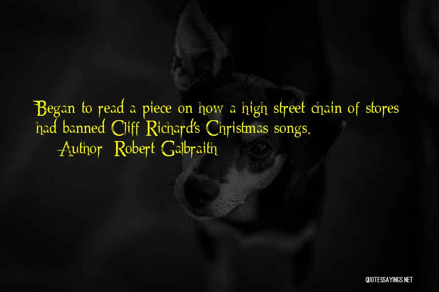 Christmas Songs And Quotes By Robert Galbraith