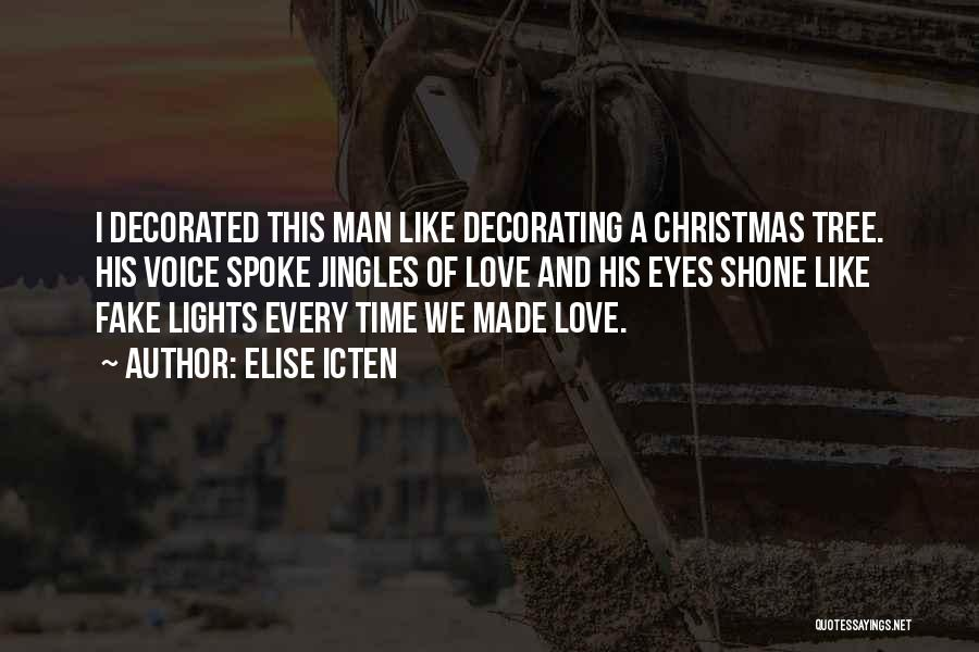 Christmas Time Love Quotes By Elise Icten