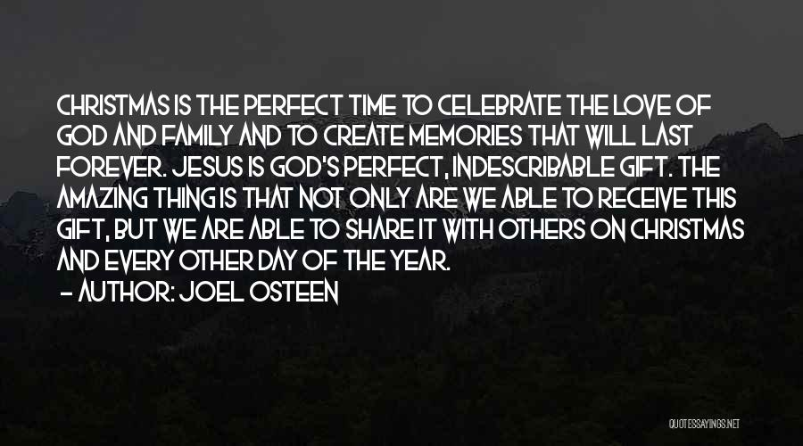 Christmas Time Love Quotes By Joel Osteen