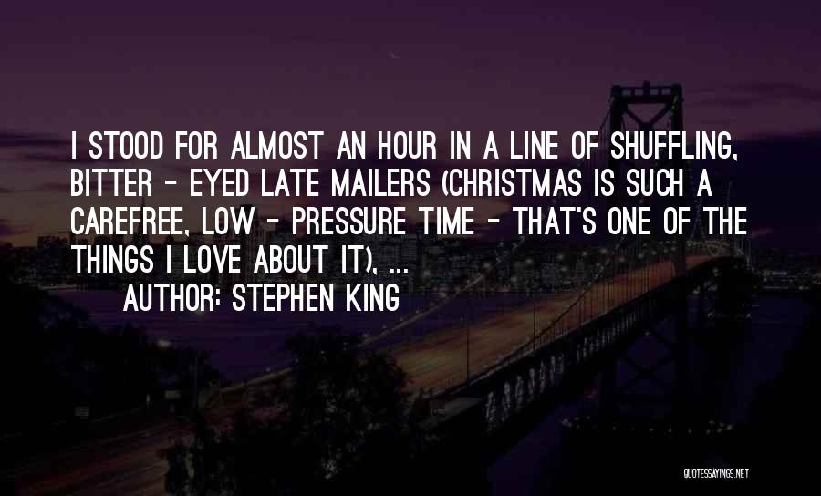 Christmas Time Love Quotes By Stephen King