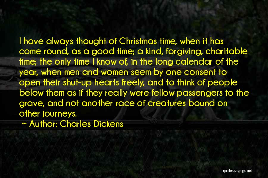 Christmas Year Round Quotes By Charles Dickens