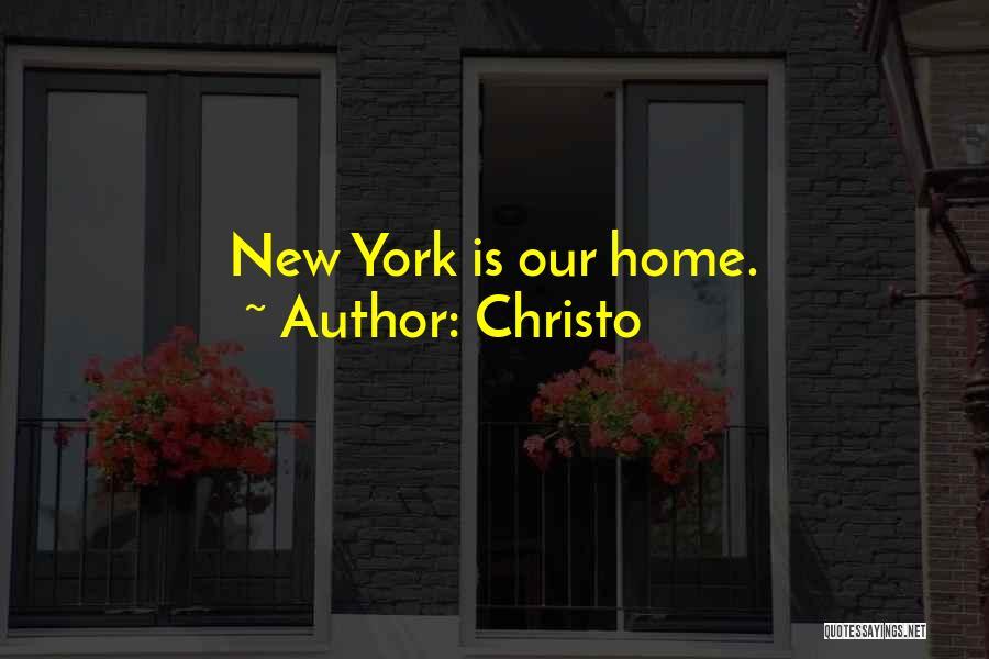 Christo Quotes 1042058