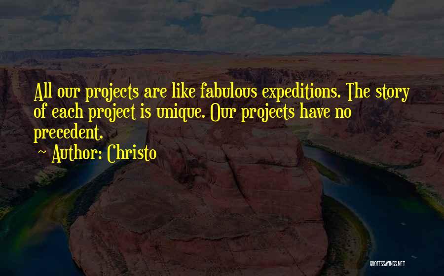 Christo Quotes 1308486