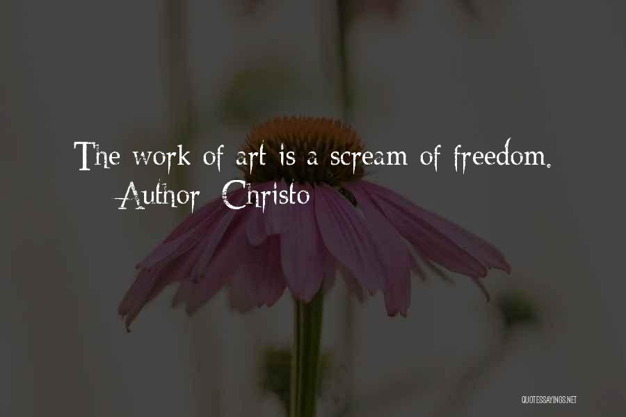 Christo Quotes 1423257