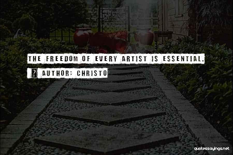 Christo Quotes 1921383
