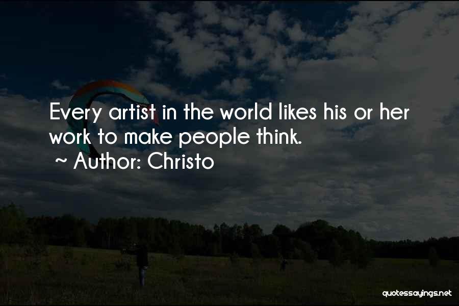 Christo Quotes 94889