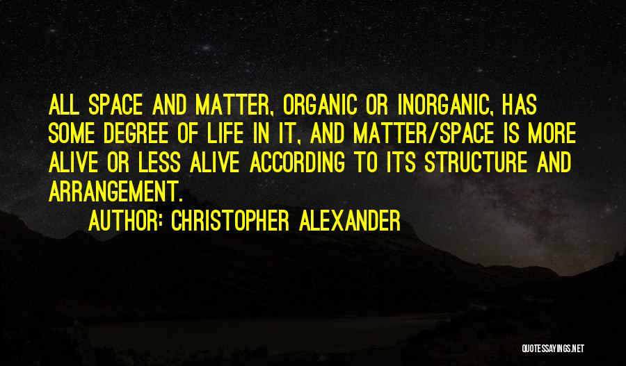 Christopher Alexander Quotes 1221868
