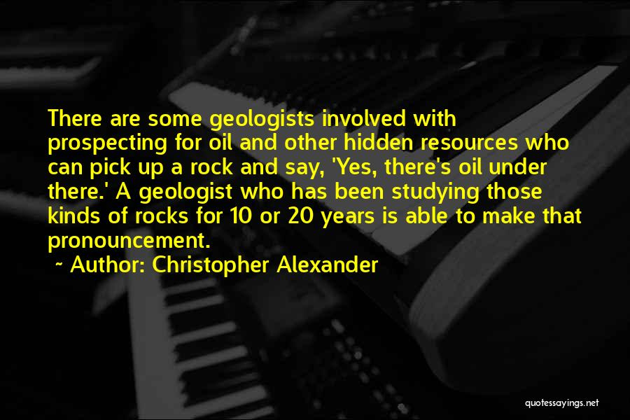 Christopher Alexander Quotes 1493950