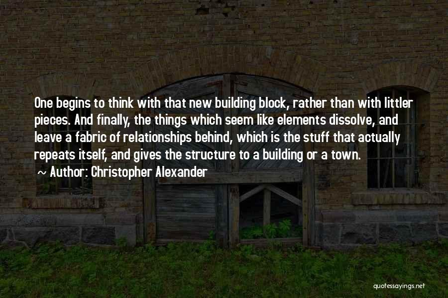 Christopher Alexander Quotes 792959
