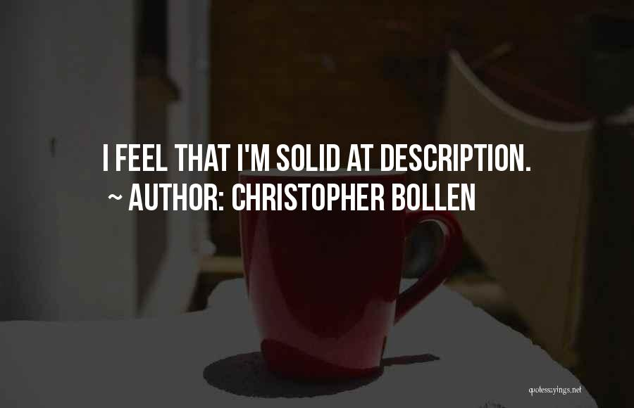 Christopher Bollen Quotes 911902