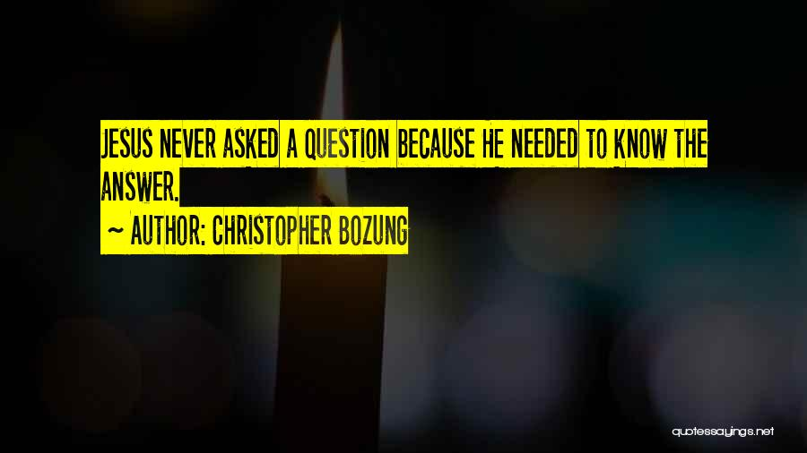 Christopher Bozung Quotes 933198