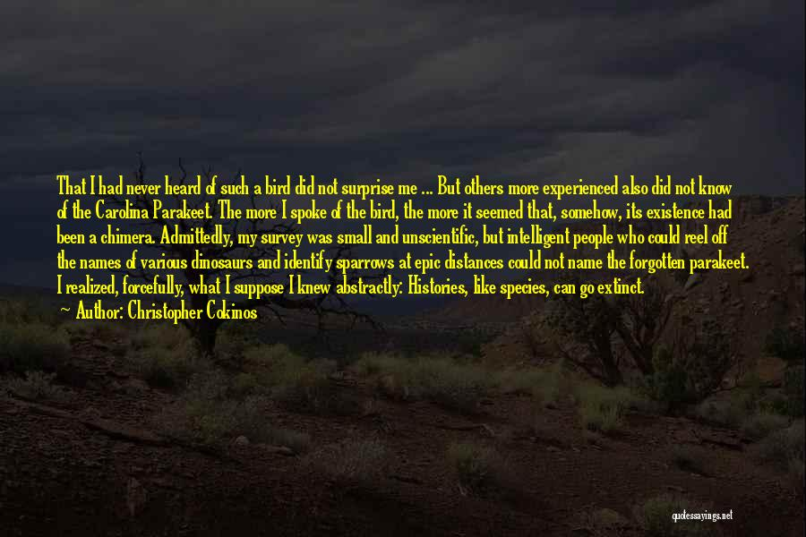 Christopher Cokinos Quotes 1403242