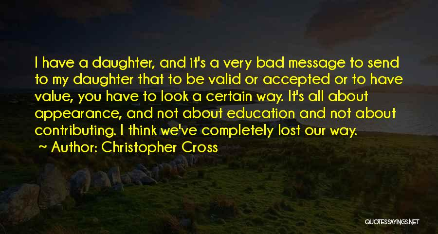 Christopher Cross Quotes 1115563