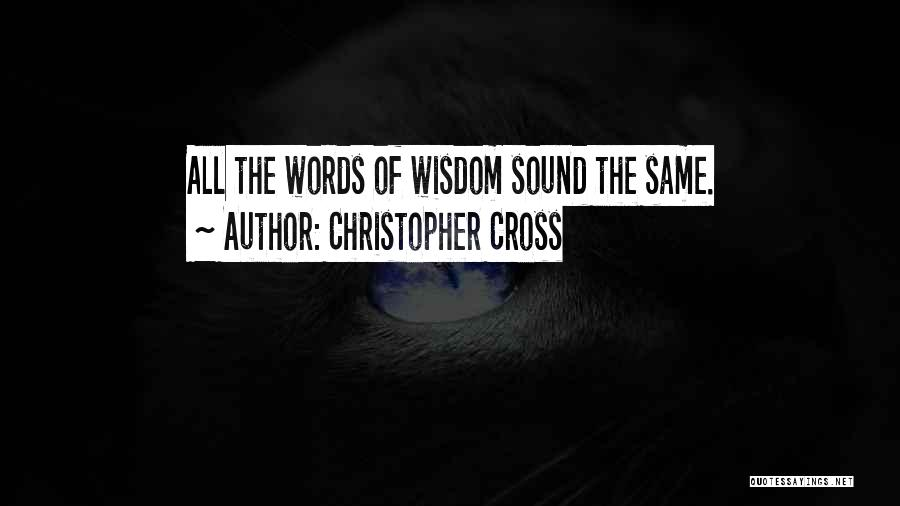 Christopher Cross Quotes 969572