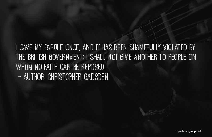 Christopher Gadsden Quotes 683945
