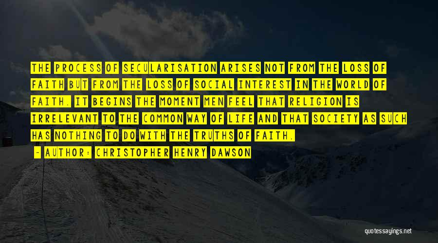 Christopher Henry Dawson Quotes 1555066
