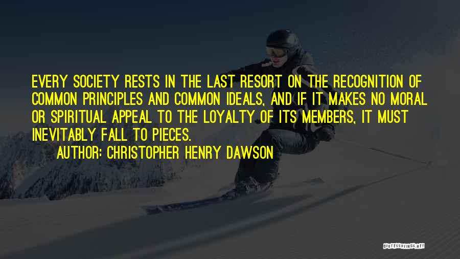 Christopher Henry Dawson Quotes 2189710