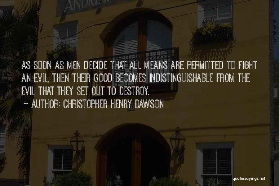 Christopher Henry Dawson Quotes 266655