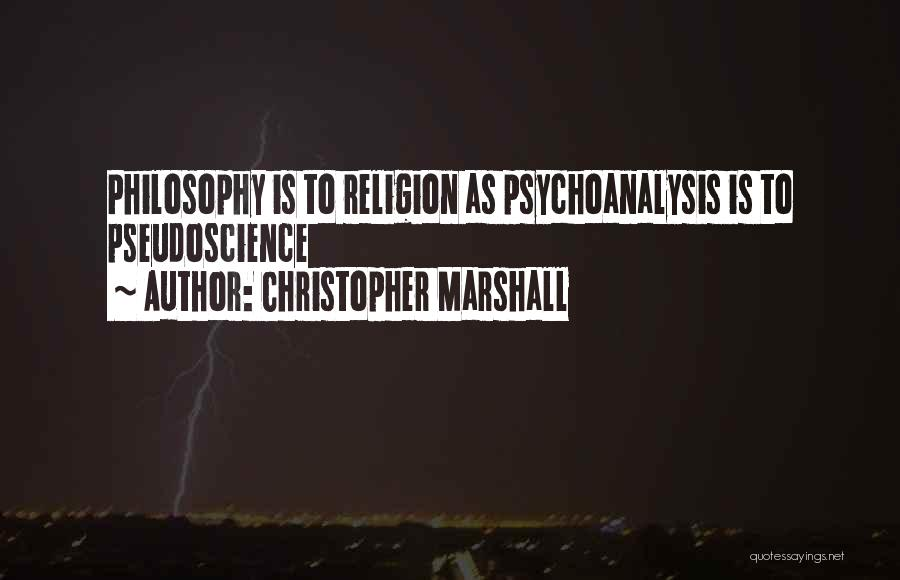 Christopher Marshall Quotes 1293428