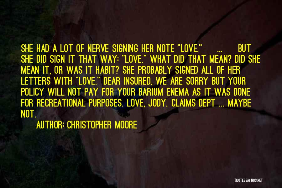 Christopher Moore Quotes 2050417