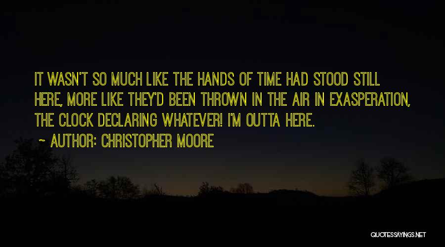 Christopher Moore Quotes 88393
