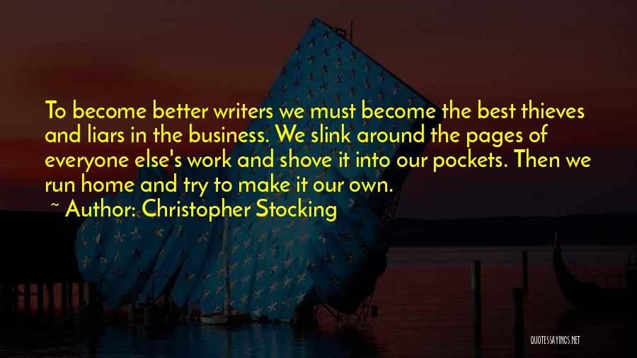 Christopher Stocking Quotes 2258313