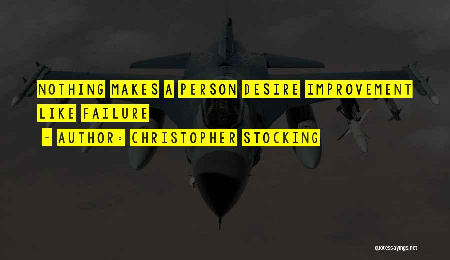 Christopher Stocking Quotes 404535