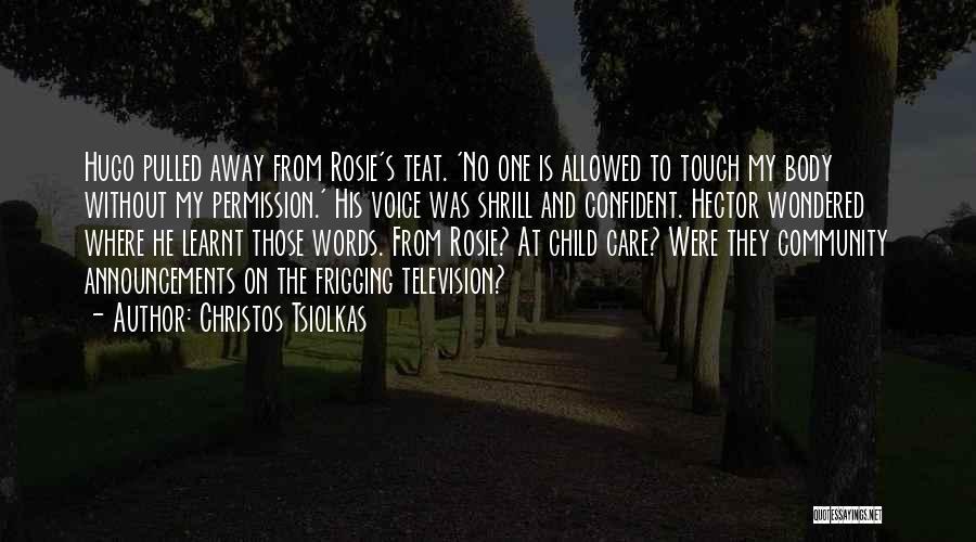 Christos Tsiolkas Quotes 198328