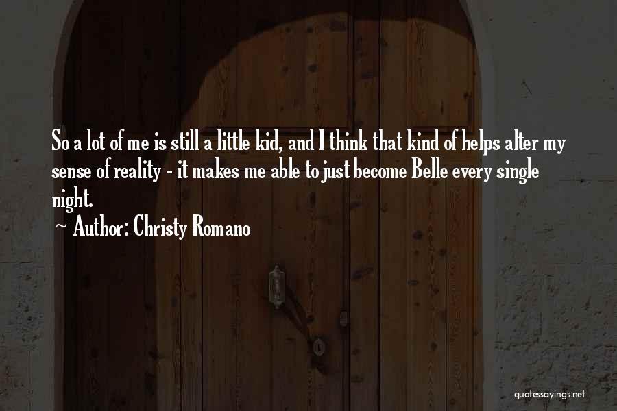 Christy Romano Quotes 170855