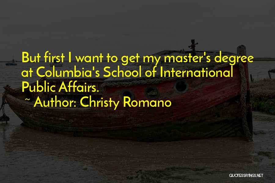 Christy Romano Quotes 1903656