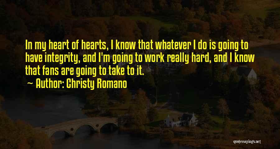 Christy Romano Quotes 2010670