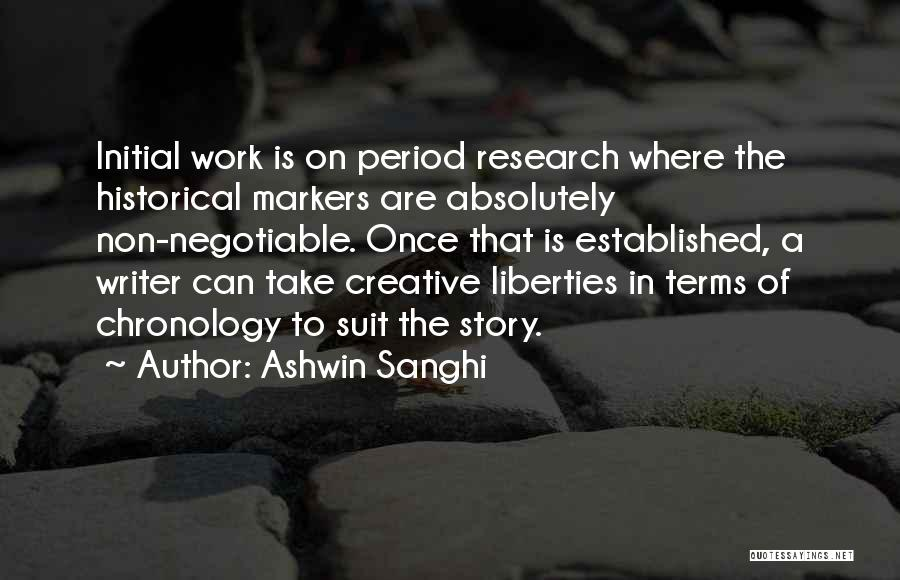 Chronology Quotes By Ashwin Sanghi