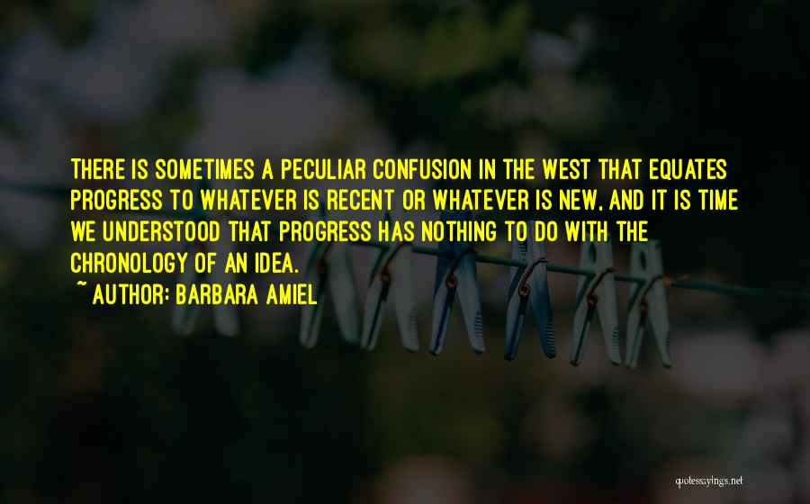 Chronology Quotes By Barbara Amiel