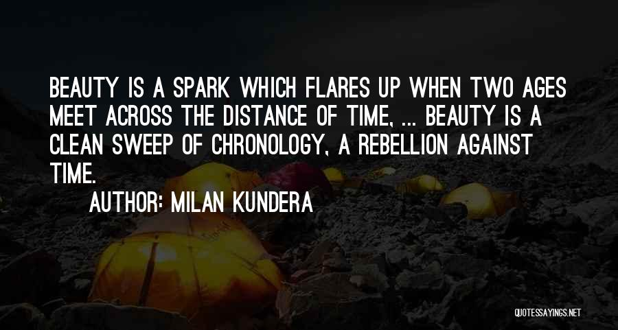 Chronology Quotes By Milan Kundera