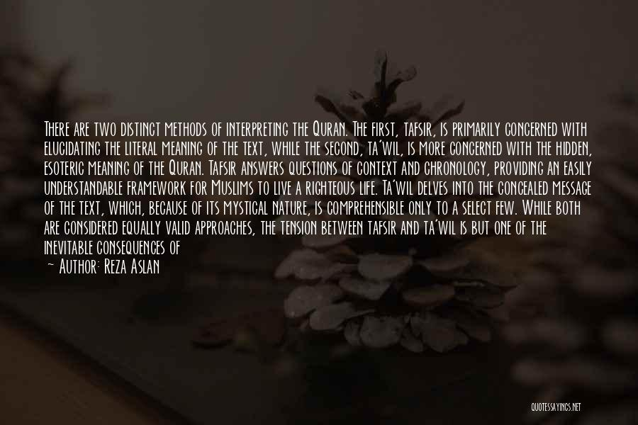 Chronology Quotes By Reza Aslan