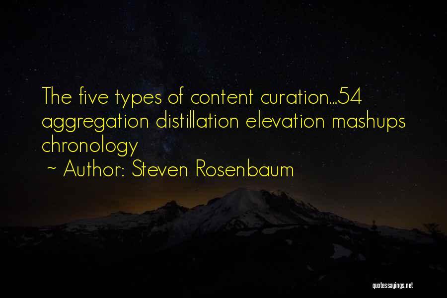Chronology Quotes By Steven Rosenbaum