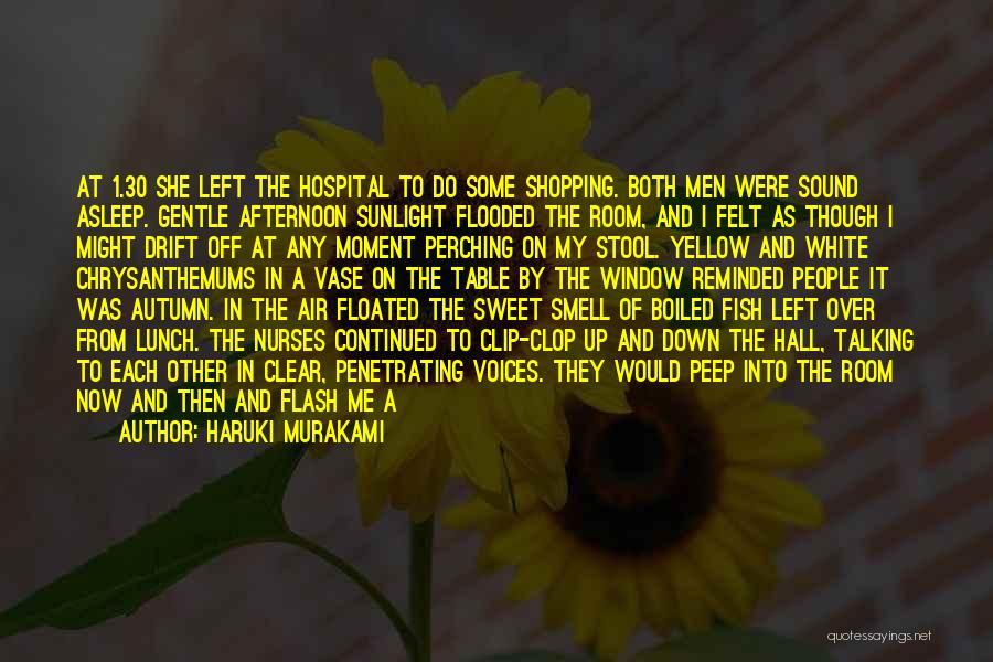 Chrysanthemums Quotes By Haruki Murakami