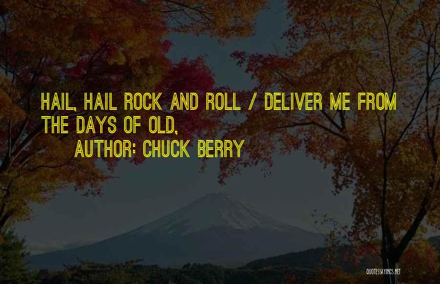 Chuck Berry Quotes 1215160
