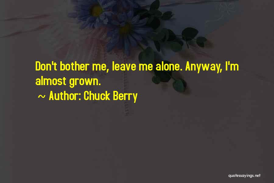 Chuck Berry Quotes 1338634