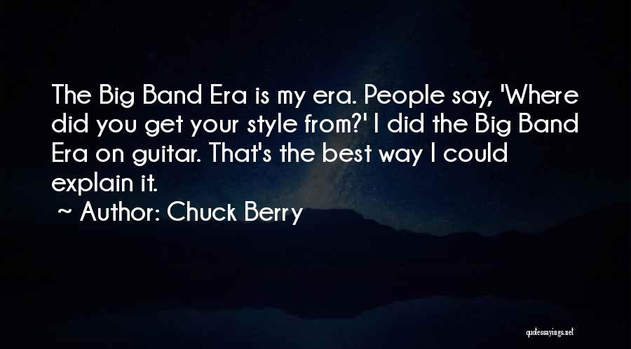 Chuck Berry Quotes 1625509