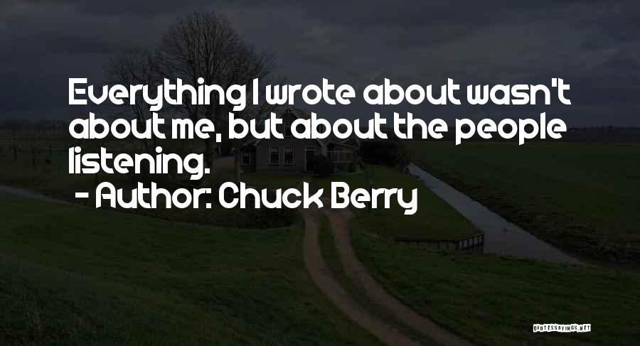 Chuck Berry Quotes 280767