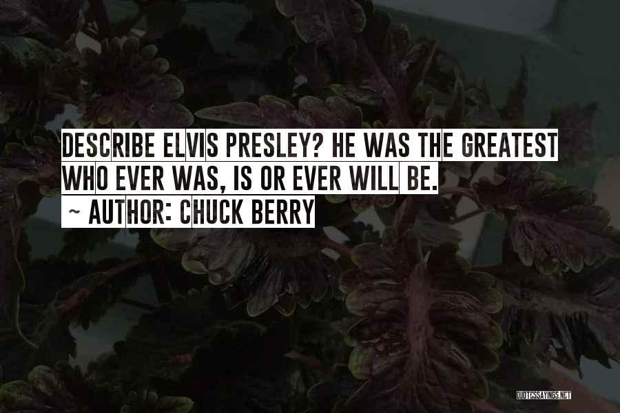 Chuck Berry Quotes 685677