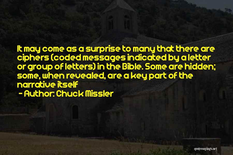 Chuck Missler Quotes 544640